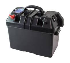 Ящик для АКБ 335х185х225 мм, с клеммами и прикуривателем