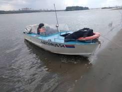 Продам моторную лодку Прогресс 2м.