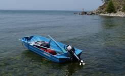 Лодка алюминиевая, разборная