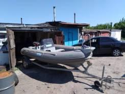 Лодка, мотор, телега