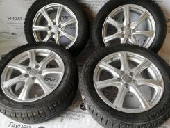 """Отличный комплект литых дисков Manaray на шинах Michelin 205/55R16. 6.5x16"""" 5x100.00 ET48"""