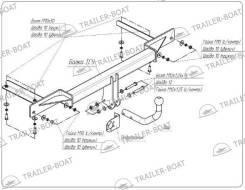 Фаркоп для Chevrolet Cruze SW (Шевроле Круз) (2013-)