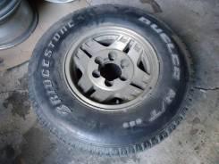 "Запасное колесо Toyota. Bridgestone Dueler H/T. 7.0x15"" 6x139.70 ET8"