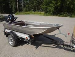 Продам алюминиевую лодку Тактика 320 2017 г. в.