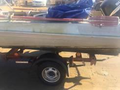 Моторная лодка Казанка 5М2 с прицепом