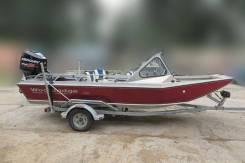 Алюминиевая водометная лодка Wooldridge+ мотор Mercury