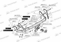Фаркоп. Hyundai Santa Fe, SM D4EA, L6BA, G6BA, G6AU, G4JP, G4JS. Под заказ