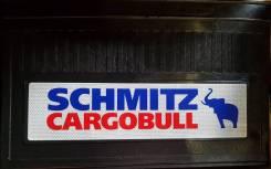 """Брызговики светоотражающие (задние резина) """"Schmitz Cargobull к-т"""