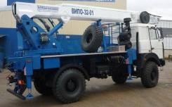 Випо-32. Автогидроподъемник ВИПО-32-01 шасси Камаз-5387 РЕАТ (4x4), 6 000куб. см., 32,00м.