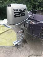 Honda. 25,00л.с., 4-тактный, бензиновый, нога L (508 мм), 2006 год