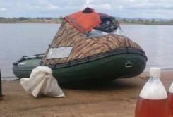 Носовой тент для лодки пвх330