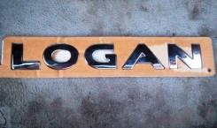 Надпись двери багажника Logan 2 2014-