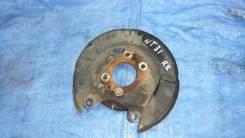 Щиток тормозного диска задний правый Nissan X-Trail NT31 MR20DE 44020CY01A 43021EN100 NISSAN X-TRAIL