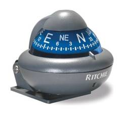 Компас Ritchie Sport, серый корпус синий циферблат