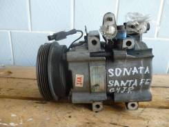 Компрессор кондиционера Sonata Santa Fe G4JP