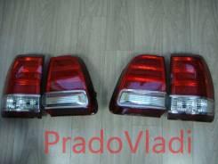 Стоп-сигналы (светодиодные красные) LAND Cruiser 100 (1998-2006)