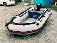 Продам лодку SVAT с мотором