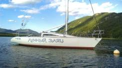 Продам парусно-моторную яхту. Длина 10,37м., 1992 год