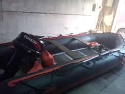 Лодка ПВХ Akila KMD 470 AKL с лодочным мотором Tohatsu M40CS