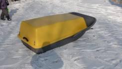 Кофр . Стеклопластиковая крышка для снегоходных саней.