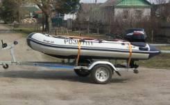 Продам лодку ПВХ - Мираж 320 с мотором suzuki 15 - 4-х тактный