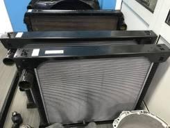 Радиатор охлаждения двигателя. Kia Granbird Hyundai Universe D6CC, D6CD, D6CG, D6HA, D6HC, C6AF, D6CC3H, D6CC42, D6HA38, D6CB, D6CB38, D6CB42, D6CC38