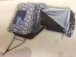 Сани для снегохода с палаткой рыбака д.190 ш.110/90 в.60/33