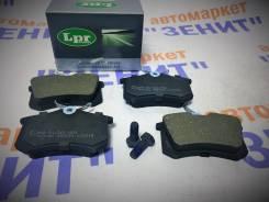 Колодки тормозные задние Peugeot 1007/ 207/ 307