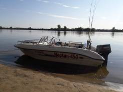 Продам пластиковый катер Нептун 450