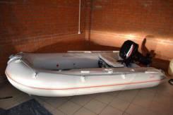 Лодка пвх Badger Sport Line 340 с мотором Mercury ME 15M