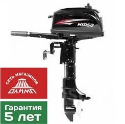 Лодочный мотор Hidea HD 5FHS, новый от оф. дилера.