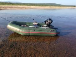 Лодка надувная ПВХ с мотором