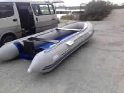 """Лодка надувная """"Солар-500 Jet Tunnel"""" светло-серый"""