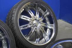 Колеса Tyfun R22 5*114.3/5*120 9.5J ET13 + шины 265/35 R22