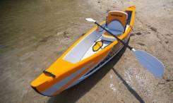 Надувная лодка 1х- байдарка - каноэ - каяк, Aquamarina Tomahawk, 2016