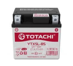 Аккумуляторная батарея Totachi CMF 5 а/ч YTX5L-BS L