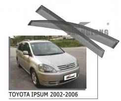 Ветровики под оригинал Toyota Ipsum 2002-2006 год