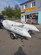 Лодка риб Brig Falcon 360 с мотором Mercury 30