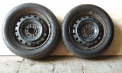 """Bridgestone Nextry 195/60R15 Japan + Штамповка 15x5.5 5x114.3 HUB65. 5.5x15"""" 5x114.30 ЦО 65,0мм."""