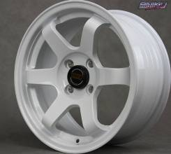 NEW! Комплект дисков Volk Racing TE37 SL R15 7j ET30 4*100 (D156)