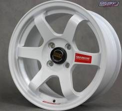 NEW! Комплект дисков Volk Racing TE37 SL R15 7j ET30 4*100 (D156А)