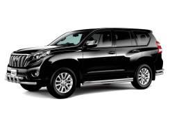 Защита порогов Toyota LAND Cruiser Prado 150 ( трубы под пороги)