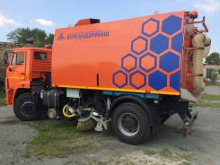 Кургандормаш КО-318Д. Вакуумная подметально-уборочная машина КО-318Д на шасси Камаз-53605