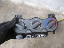 Блок управления климат-контролем. Hyundai Accent, LC, LC2 Двигатели: D3EA, G4EA, G4EB, G4ECG, G4EDG, G4EK