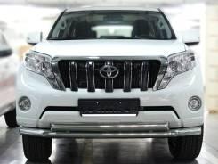 Защита переднего бампера Toyota LAND Cruiser Prado 150