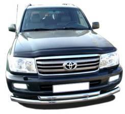Защита переднего бампера Toyota Land Cruiser 100 в Кемерово