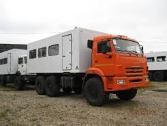 Вахтовый автобус на шасси КАМАЗ 43118, 2018