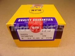 Поршневые кольца 2H STD NPR SDT10075ZX 13011-68010
