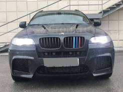 Молдинг решетки радиатора. BMW X6, E71, E72 BMW X5, E70 M57D30TU2, N55B30, N57D30OL, N57D30S1, N57D30TOP, N57S, N63B44, S63B44, M57TU2D30, N52B30, N62...