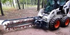 Траншеекопатель на минипогрузчик BobCat МКСМ